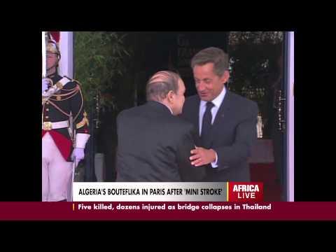 ALGERIA'S BOUTEFLIKA IN PARIS AFTER 'MINI-STROKE'