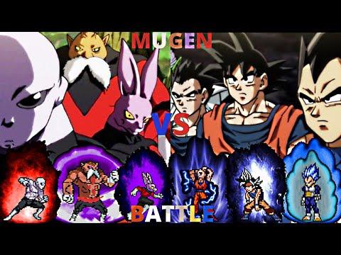 Jiren, Toppo, & Dyspo vs Goku, Vegeta, & Gohan