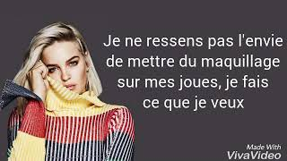 Traduction française Anne Marie - Perfect to me ♡♡