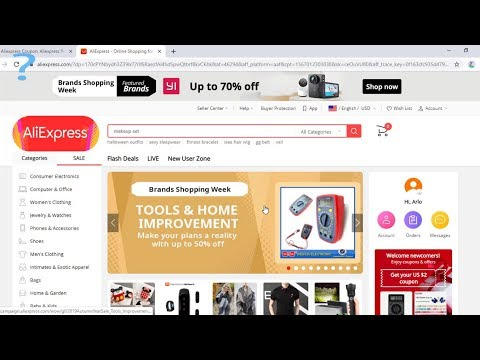 Aliexpress Coupon, Discount Code, Promo Code Up To 50% Off