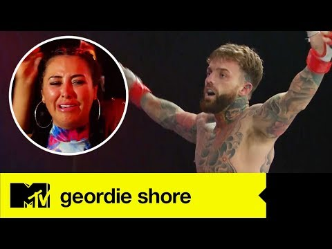 Aaron Chalmers' First Ever MMA Fight   Geordie Shore