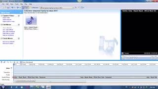 cara memotong lagu atau mp3 melalu windows movie maker 2.6