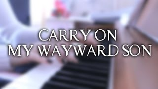 Kansas - Carry On My Wayward Son | Supernatural s10e5 | Piano Cover (w/ sheet mus)