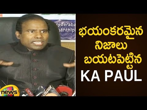 KA Paul Reveals Shocking Facts About AP Assembly Elections | KA Paul Press Meet | Mango News