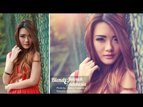 Blend and Retouch Soft Light | Photoshop Tutorials