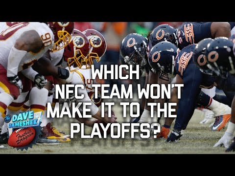 NFC Teams That Will Definitely Not Make it into the 2017 Playoffs | DDFP | NFL Network
