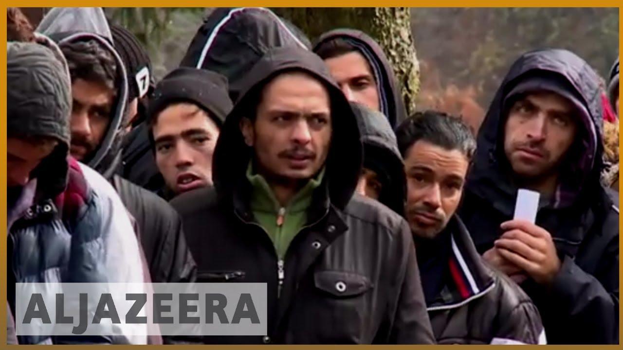 Bildergebnis für al jazeera bosnia refugees