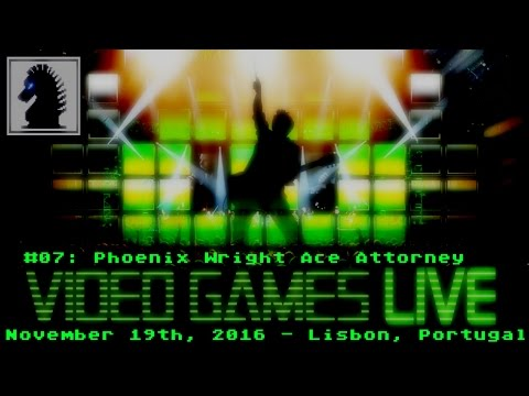 Video Games Live in Lisbon Portugal 2016 #07: Phoenix Wright Ace Attorney