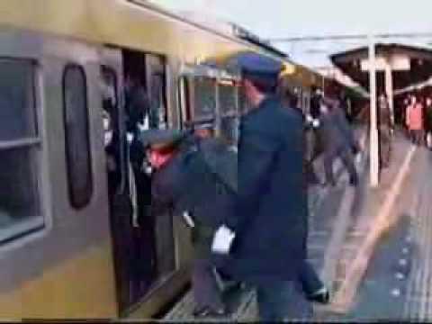 Commuting by train in Japan