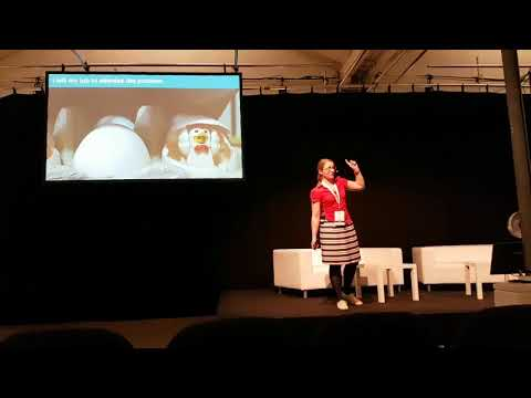 Fiona's talk at #TechBBQ in Copenhagen