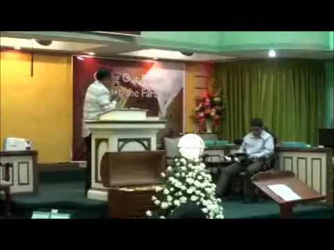 La Loma Baptist Church Pastor Lumagbas 1st service 4 - March - 2012