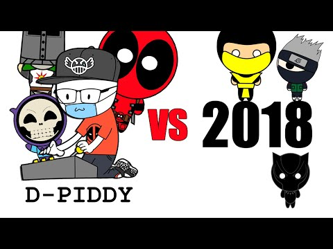 D-Piddy Vs 2018 - Bloopers & Outtakes (BTS)