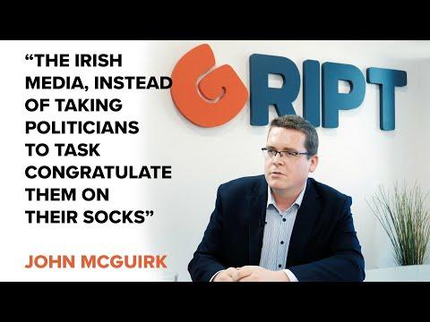 MUST SEE: John McGuirk Slams Irish Media, Offers New Alternative