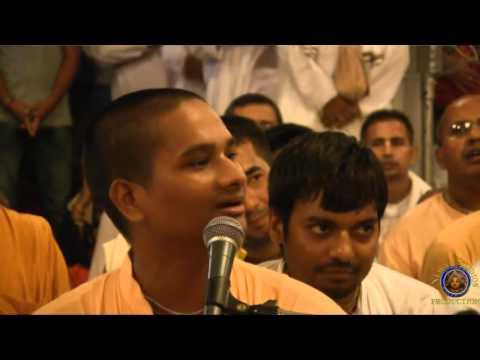 Radhastami Kirtan 2015 By Sri Hari Kanta Prabhu At ISKCON Mayapur