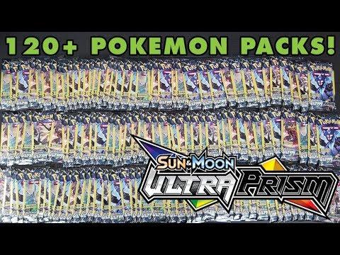 AMAZING 120 (+1) Dollar Pack Pokemon Ultra Prism Opening!