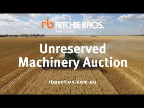 Ritchie Bros. unreserved equipment auction - Moree, Australia Sep 1