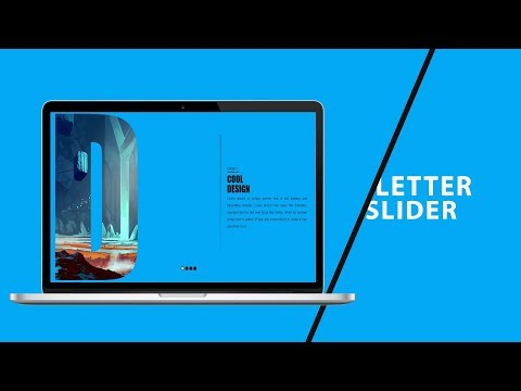 Letter Slider | CSS - JQUERY Tutorial