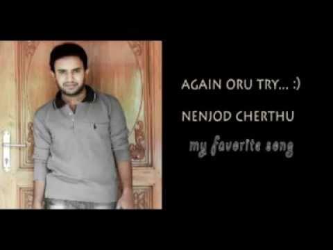 Nenjodu Cherthu Karaoke cover Vipin