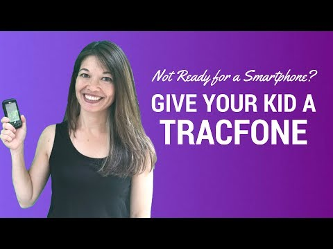 Not Ready For A Smartphone?  Give Your Kid A Tracfone!