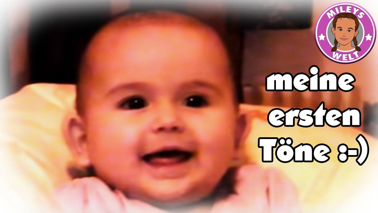 Total lustiges Baby Lachen und Gebrabbel - Die ersten Töne ...
