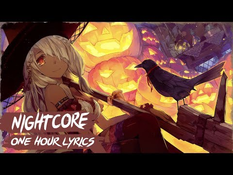 Nightcore - This Is Halloween (Female Version)   1 Hour & Lyrics
