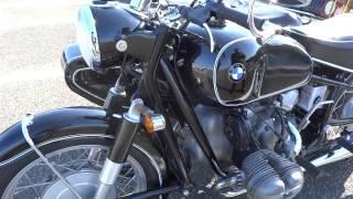 BMW R69S 純正サイドカー付 お宝バイクのエンジン音