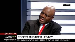 'Give credit where it's due' - Prof Mutambara on Mugabe