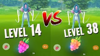 LEVEL 14 VS 38 WHO CAN CATCH SUICUNE BETTER? (POKEMON GO LEGENDARY DOGS)
