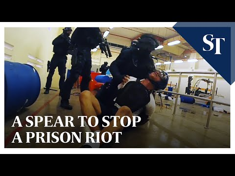 A SPEAR to stop a prison riot | The Straits Times