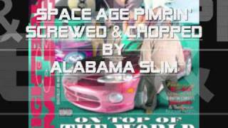 Space Age Pimpin' 8Ball & MJG Screwed & Chopped By Alabama Slim