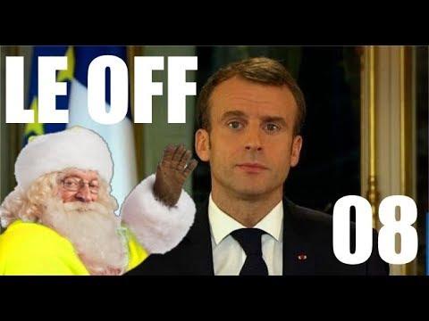 Discours de Macron, réaction et analyse (Le OFF #08)
