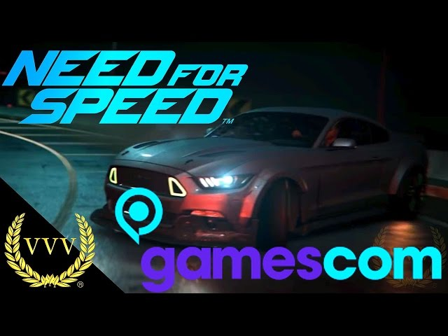 Need For Speed Gameplay Gamescom 2015