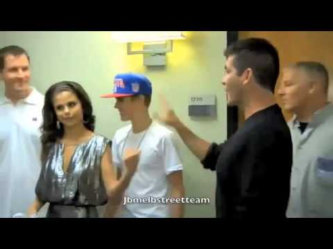 Jelena Backstage at Jay Leno (September 19, 2013)