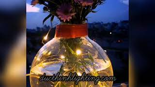 Dây đèn led đom đóm trang trí chống nước