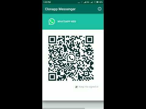 Cara menggunakan clonapp messenger