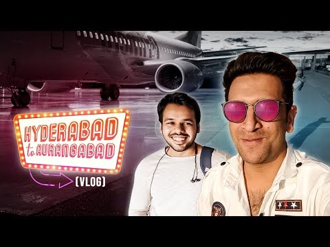 HYDERABAD TO AURANGABAD VLOG || FUNNY JOURNEY || Shehbaaz Khan / shahrukh k adnan