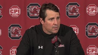 POSTGAME: Will Muschamp on Chattanooga — 11/17/18