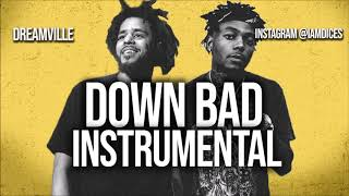 """Dreamville """"Down Bad"""" ft. J. Cole & JID Instrumental Prod. by Dices *FREE DL*"""
