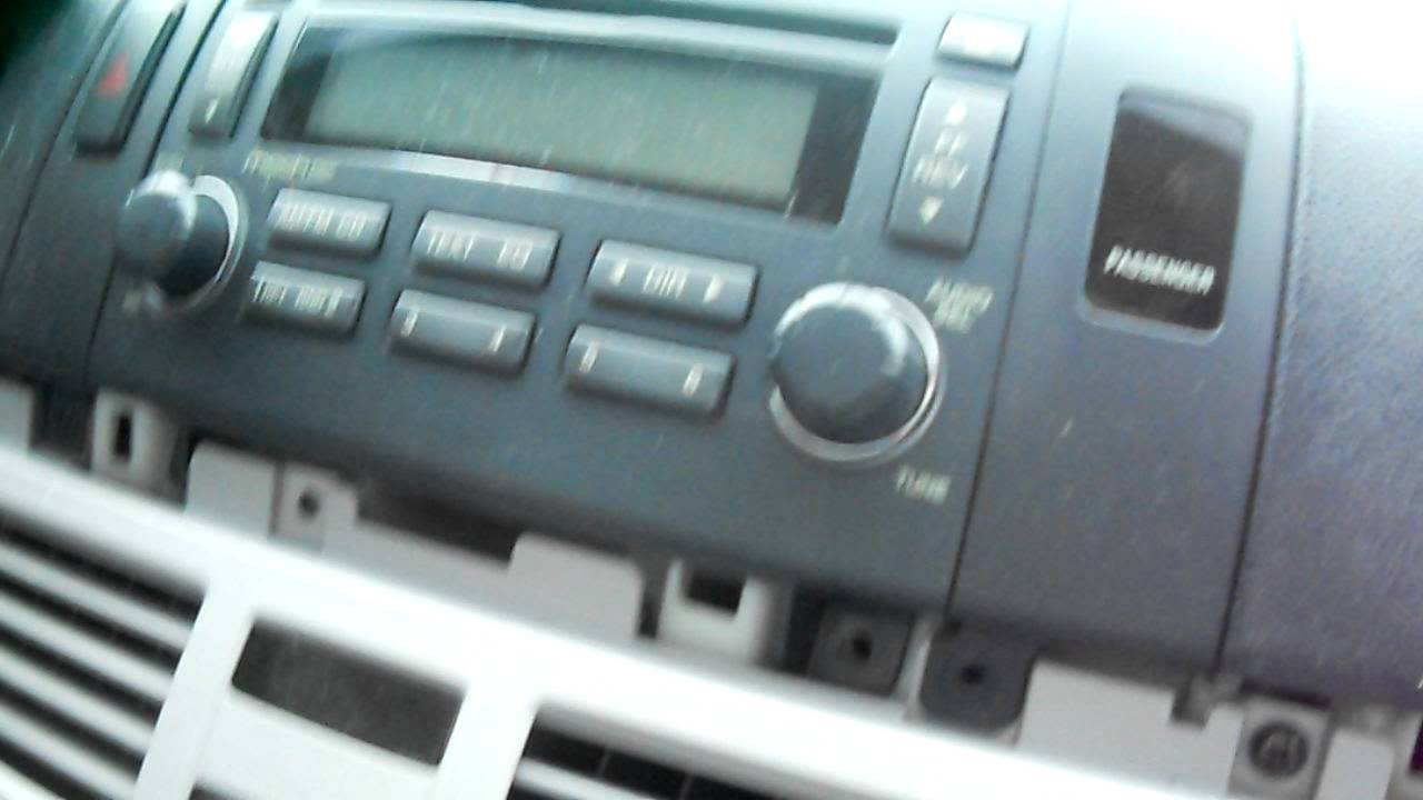 How To Remove 20062009 Hyundai Sonata Stereo  YouTube