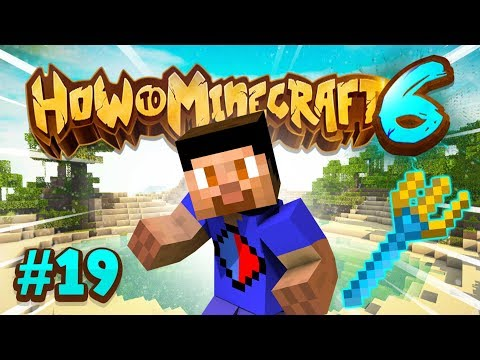 MAX TRIDENT ENCHANTS! - How To Minecraft #19 (Season 6)