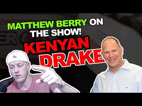 Matthew Berry interview...Kenyan Drake 2020!?!?