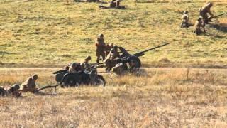Реконструкция боевых действий Второй мировой войны (Днепропетровск, 18.10.2015)