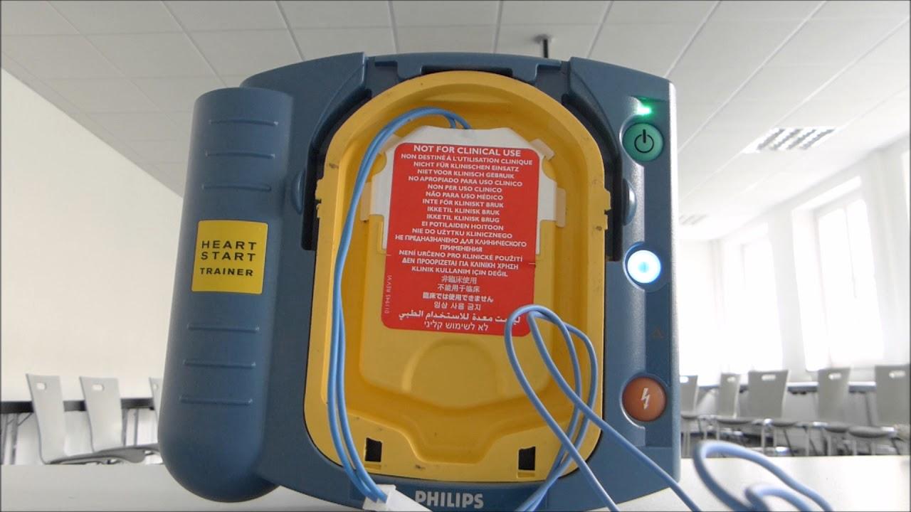 Philips Defibrillator Schulungsbeispiel 1
