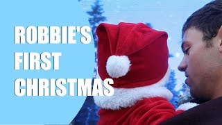Robbie's First Christmas! I Tom Daley