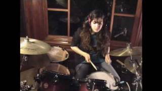 the xx intro drum cover female drummer