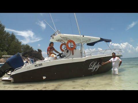 Seychelles #1 of best boat excursions on Praslin - Lyly Boat Charter