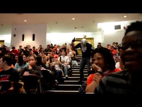 Joust Lecture Prank (Operation Hard Rock Knights), University of Maryland