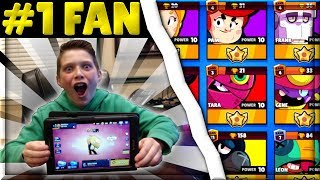 Gambar cover Buying $1000 in Gems to Max my #1 Fan's Brawl Stars Account! | His Reaction was...