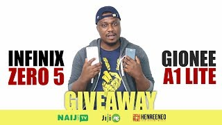 Infinix Zero 5 and Gionee A1 Lite Giveaway