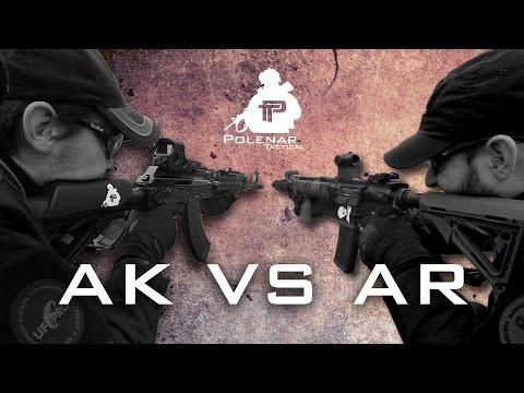AK vs AR   Clash of the Rifles